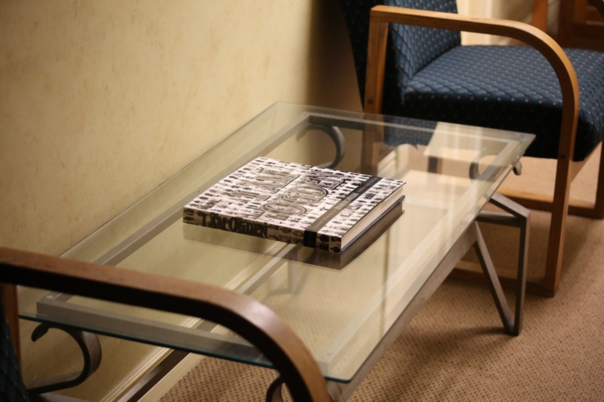Table And Window Glass Often Become Scratched