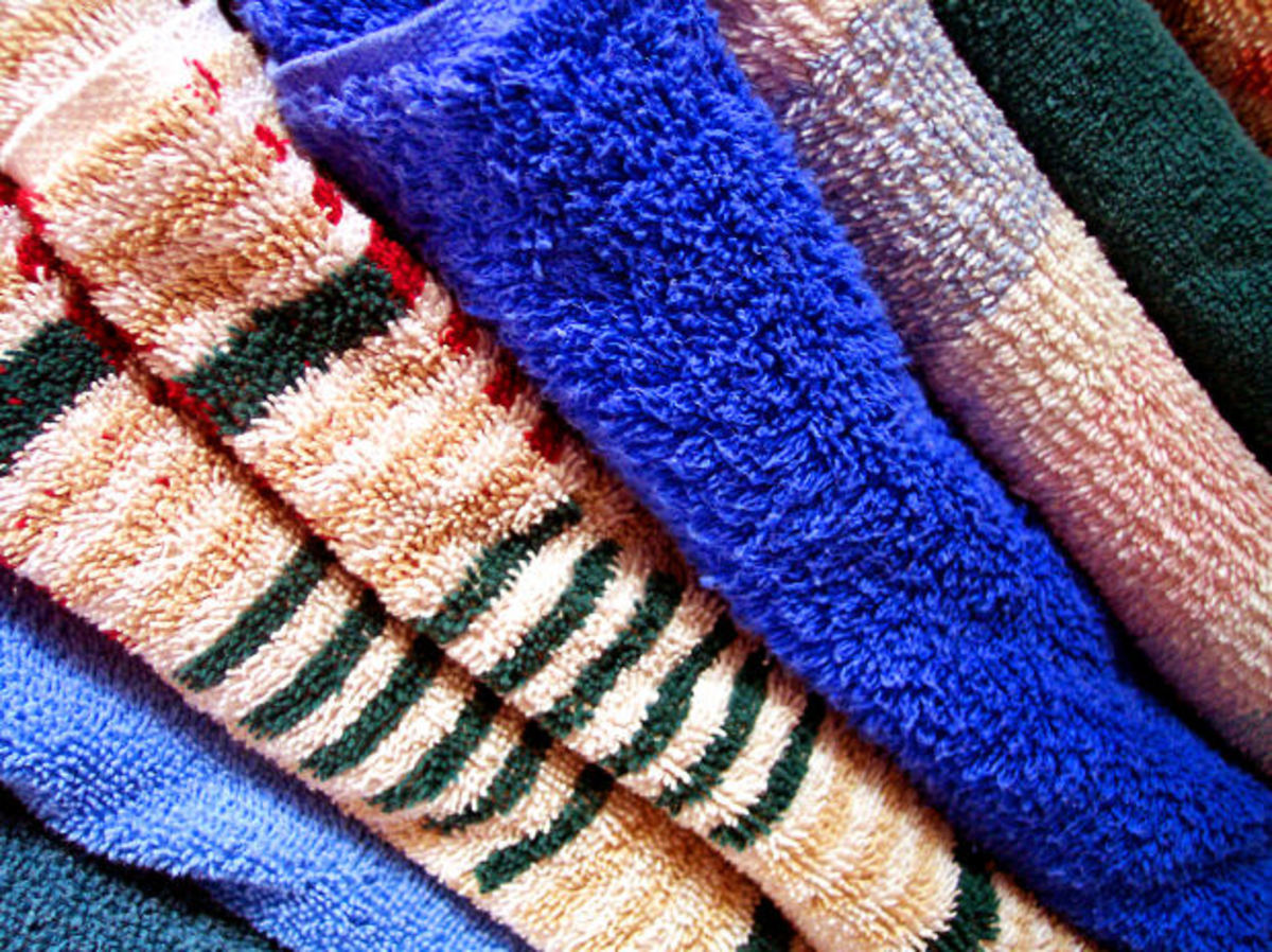 Keep bed linens and towels in your vacation home.