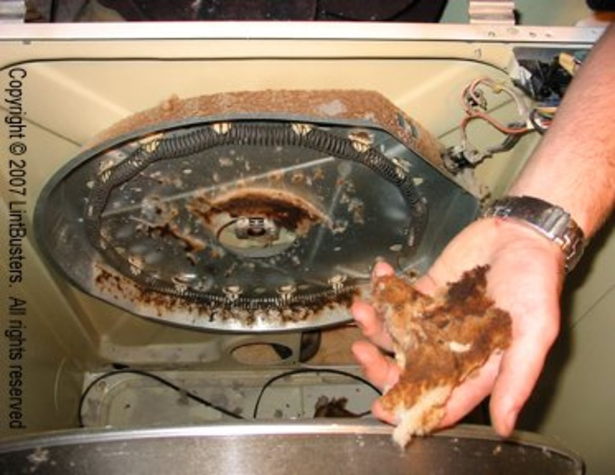 Clothes Dryer Repair for Loud Noises, Overheating, and Not