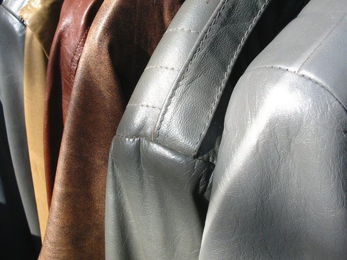 Ink stains on leather can often be permanent.
