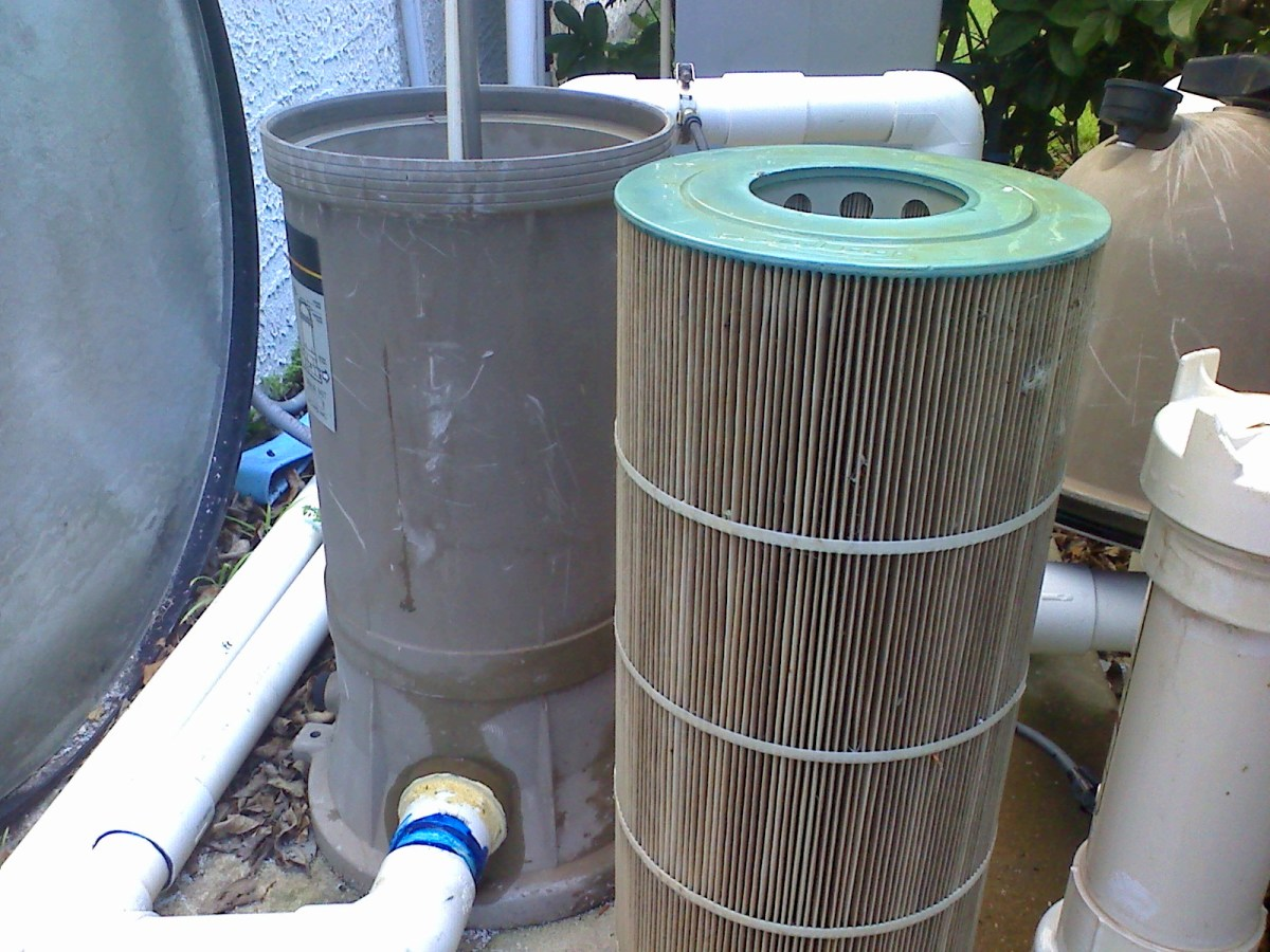 How To Clean A Cartridge Filter If You Have A Green Cloudy Pool Dengarden