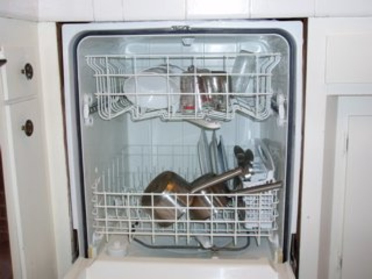 Rinse the dirty dishes before putting them in the dishwasher, so you don't have to use the pre-rinse feature.