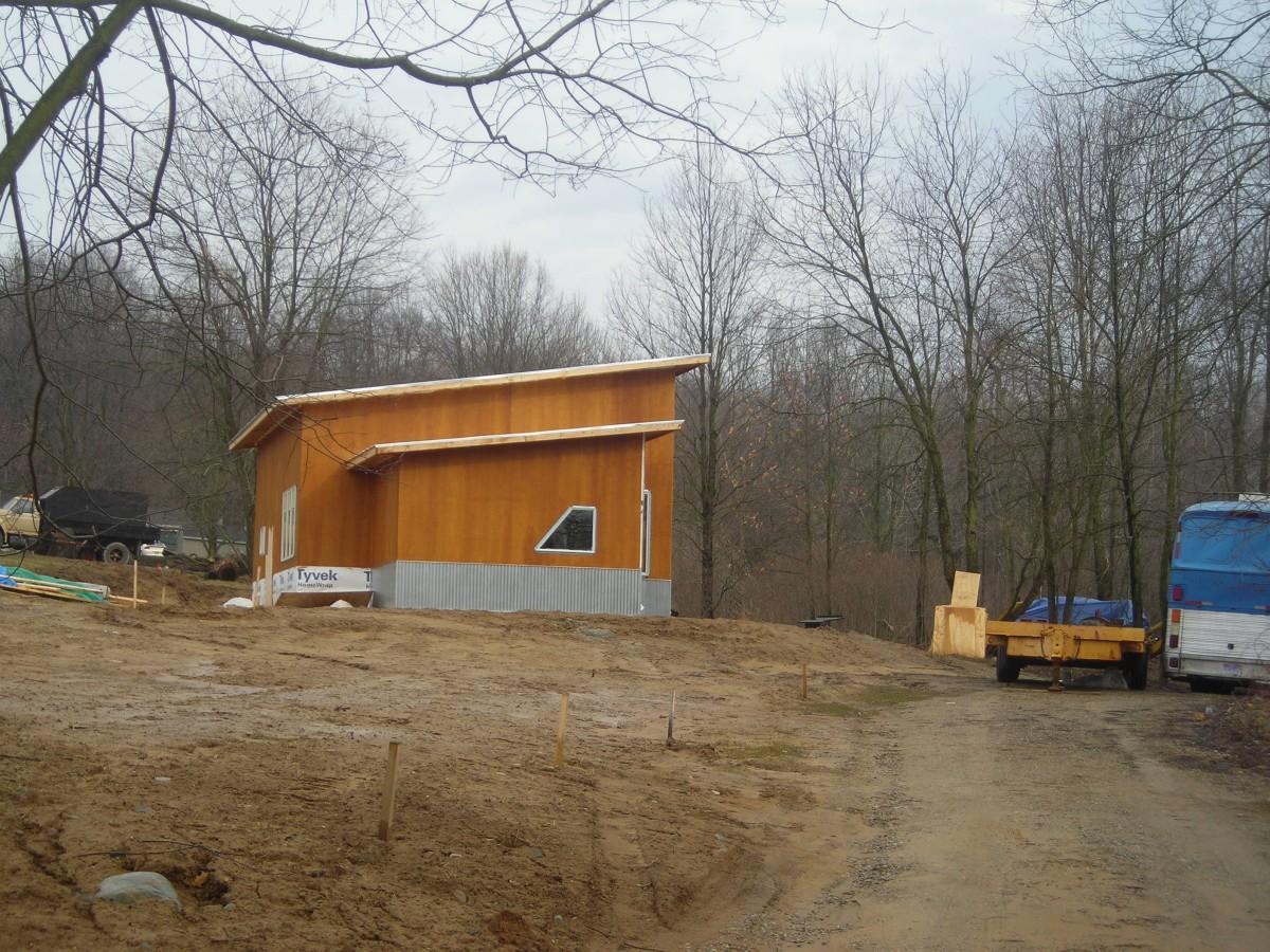 Pole barn house lot.