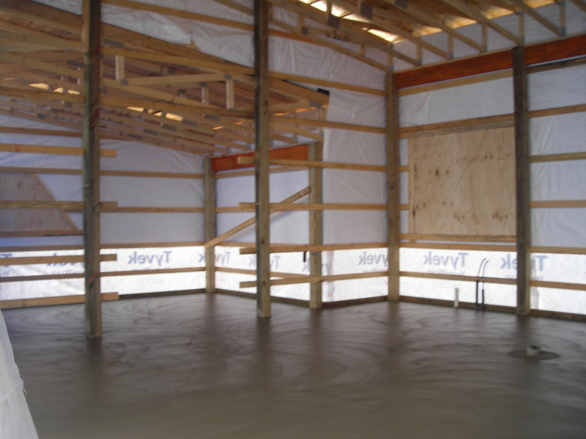 concrete floors with radiant in floor heat