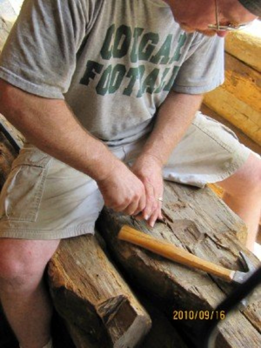 Removing the nails from these centuries-old homes and preserving the wood are all part of saving the rich history of the American chestnut tree.