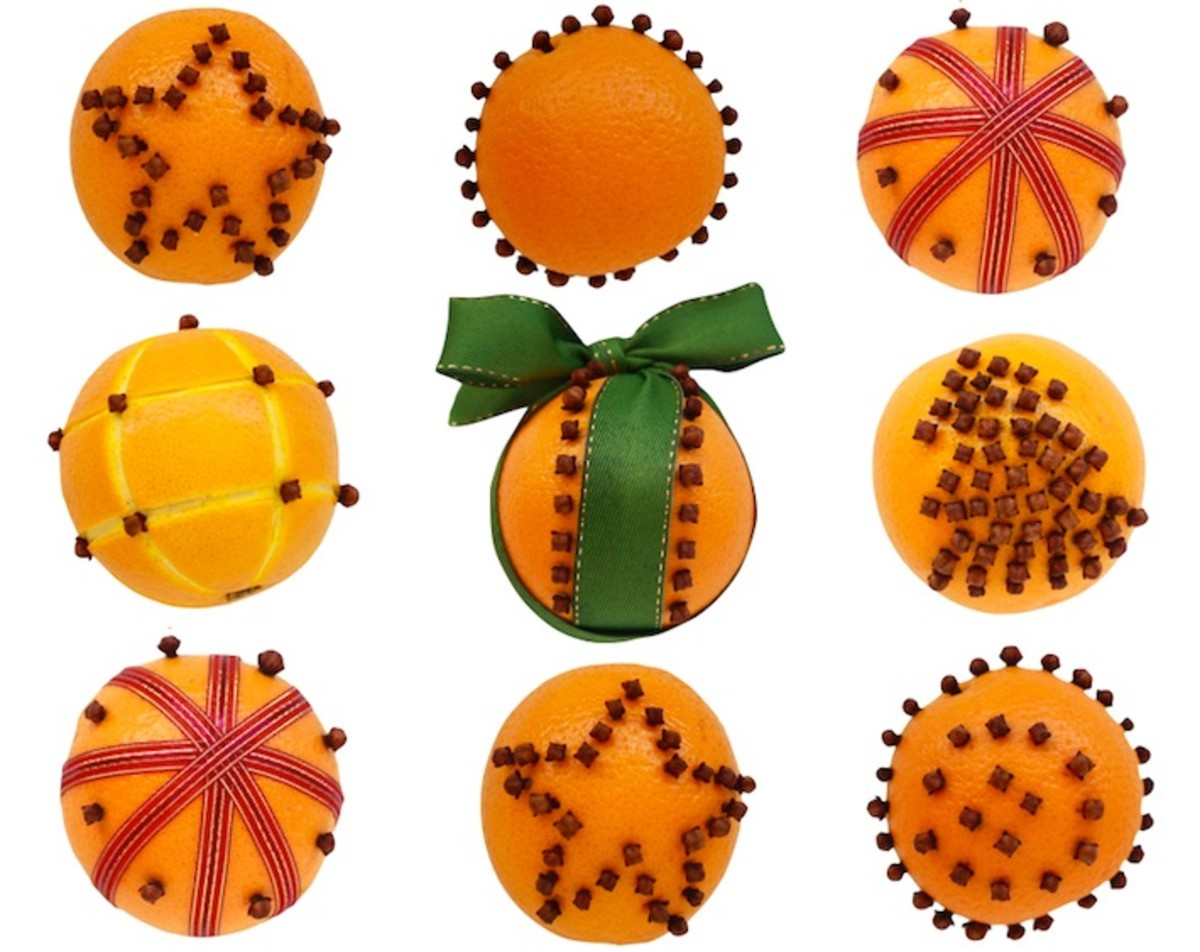 Here are a handful of additional design ideas for your orange-spice pomander moth repellant.
