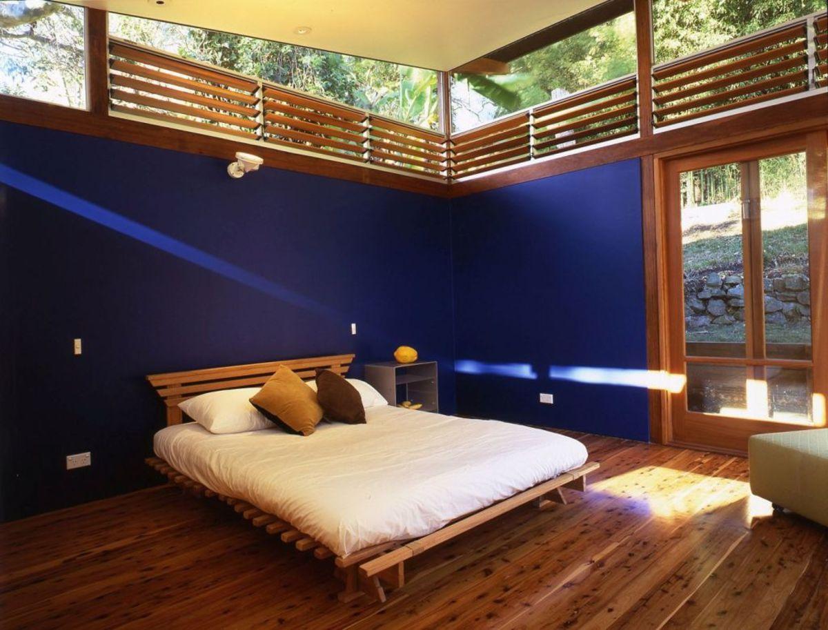 Indigo Bedroom