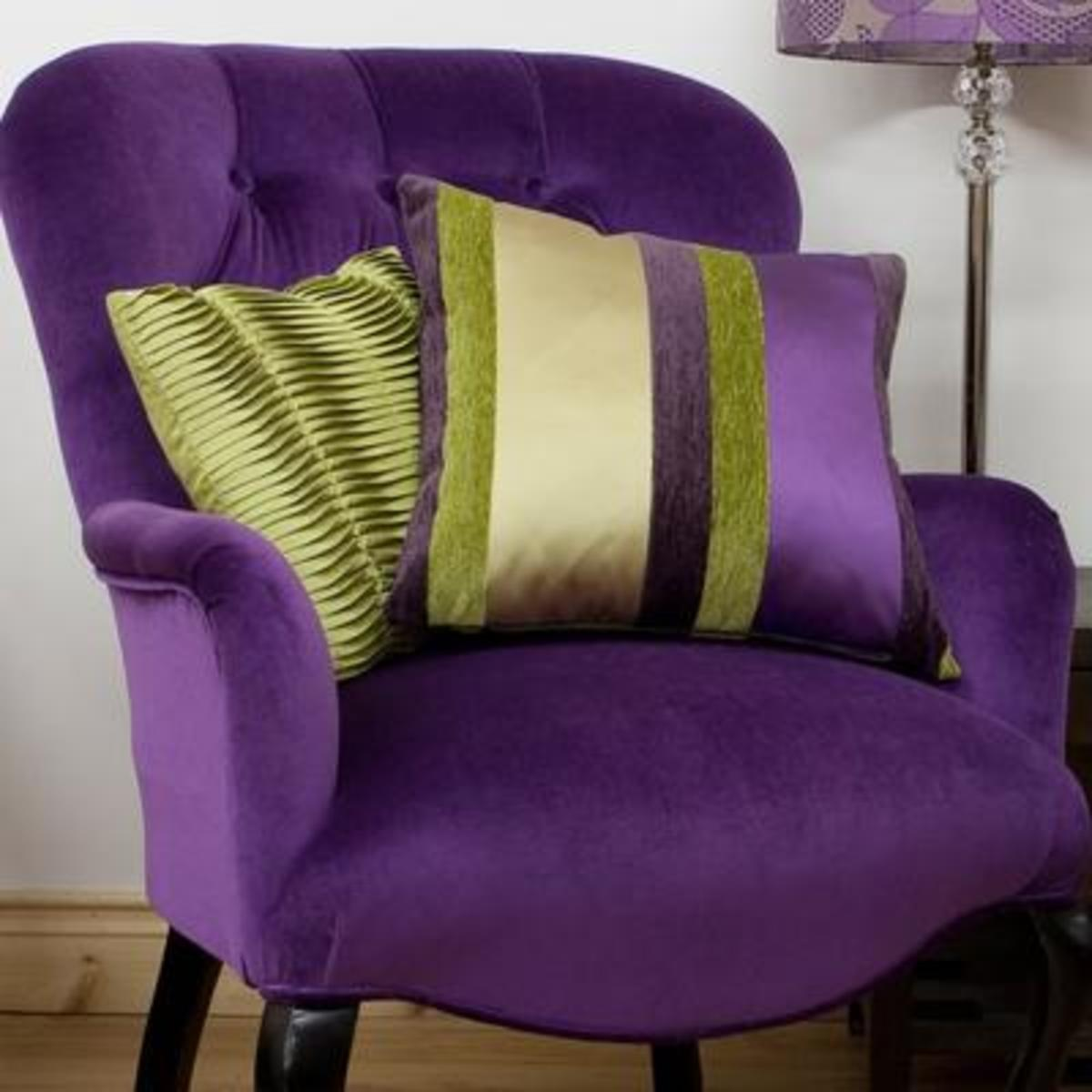 Lime Green & Purple