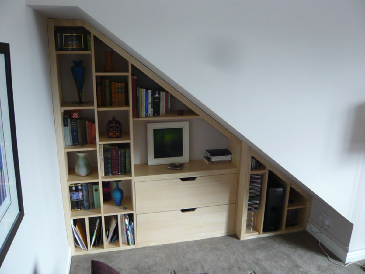 Do a Google image search for lots more under the stairs storage ideas.
