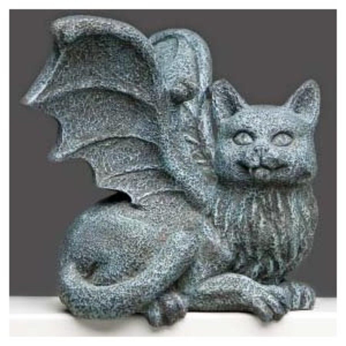 Cat Gargoyle