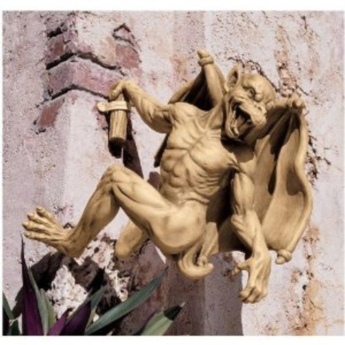 Gaston Gothic Stlye Large Gargoyle