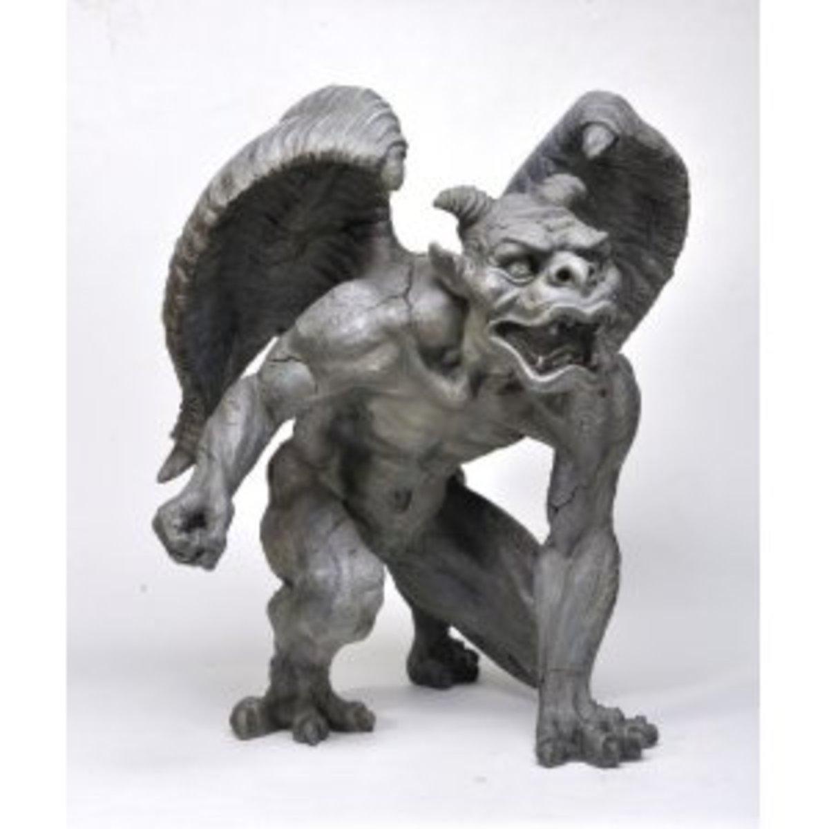 Evil Winged Devil Gargoyle