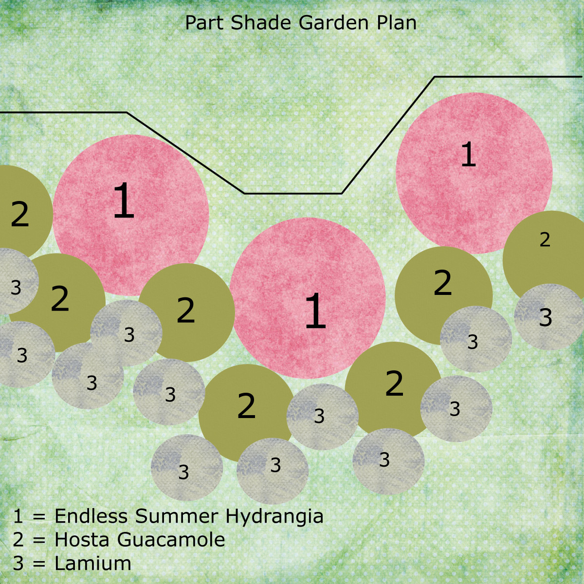 Garden plans zone 5 part shade pdf for Shade garden design zone 9