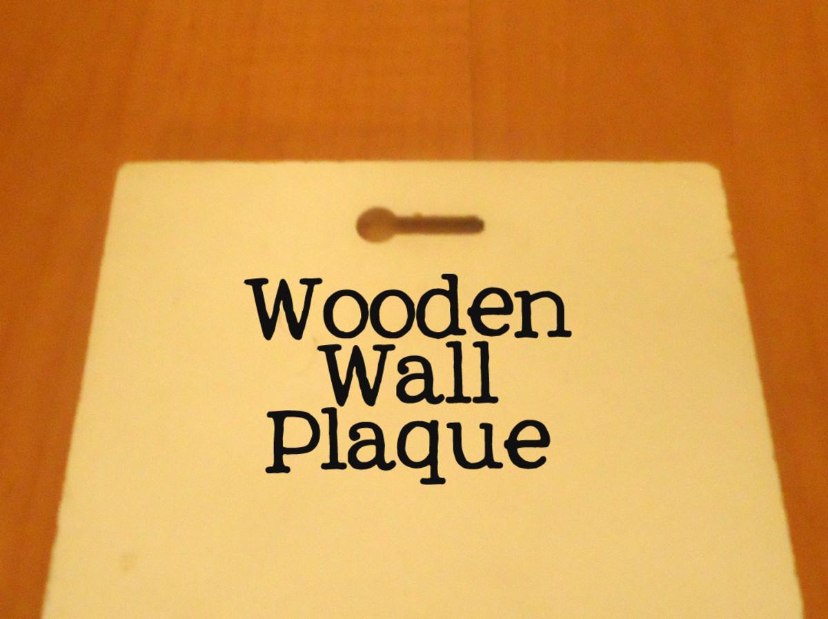 wooden keyhole hanger