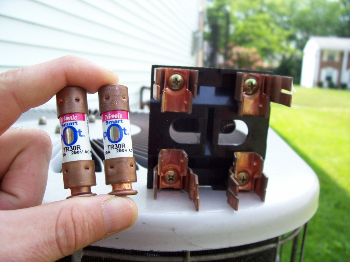 how to replace air conditioning fuses dengarden rh dengarden com Air-Handler Fuse Location Lennox Air Conditioner Fuse Box