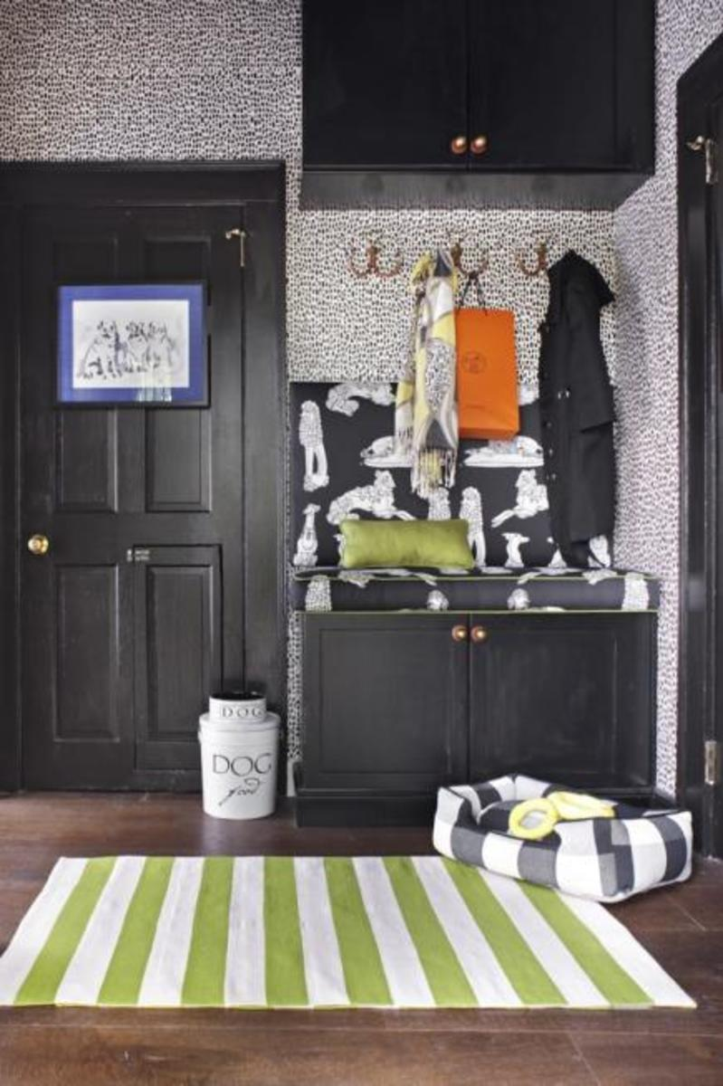How about a mudroom for pets and people?