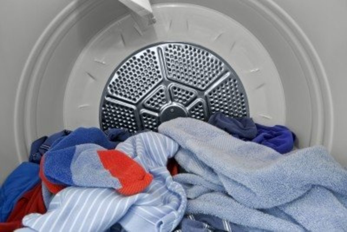 Using your homemade fabric softener sheets in the tumble dryer will stop your synthetic fabrics from accumulating a static charge