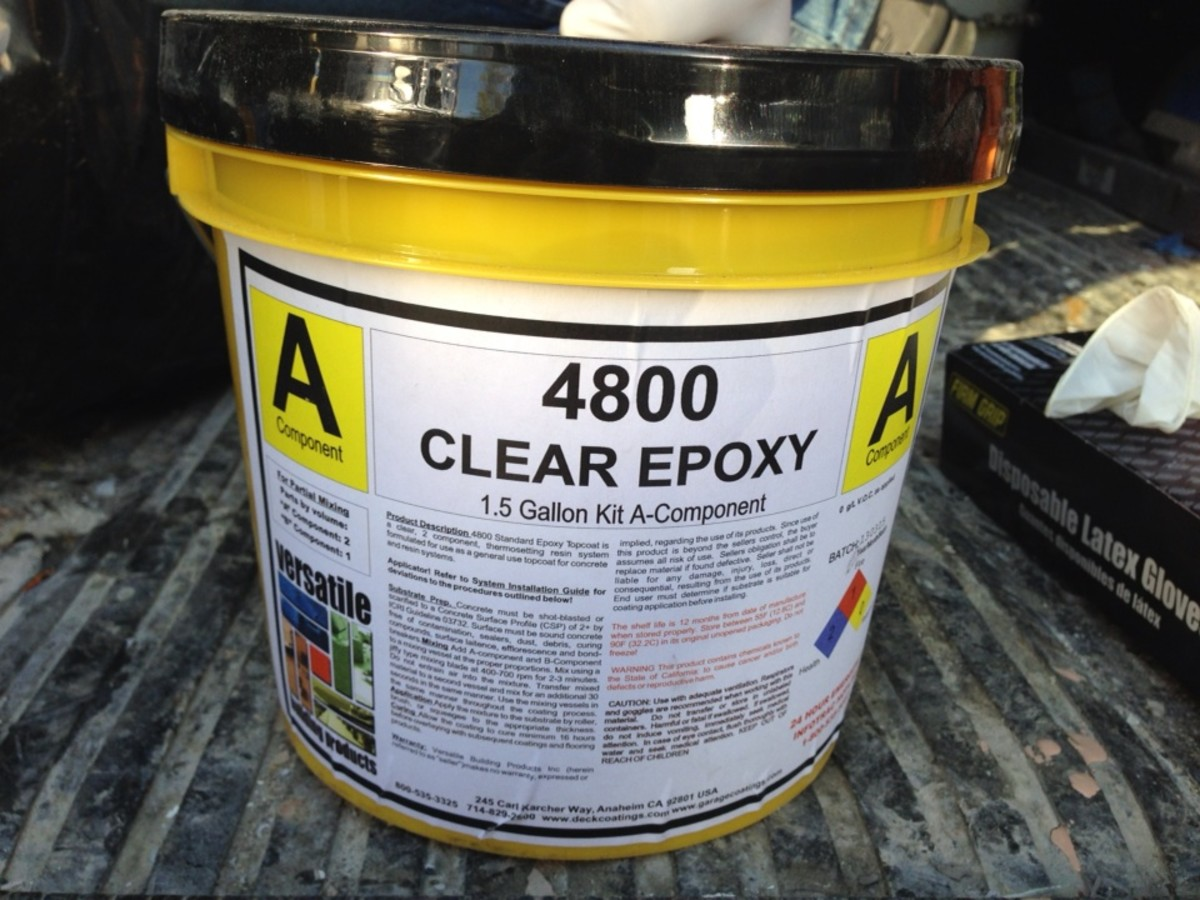 4800 Clear Epoxy