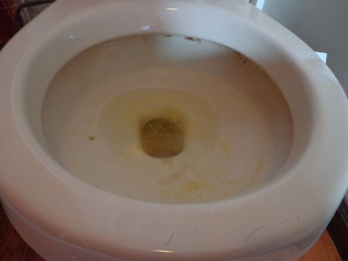 how to clean toilet bowl stains with borax