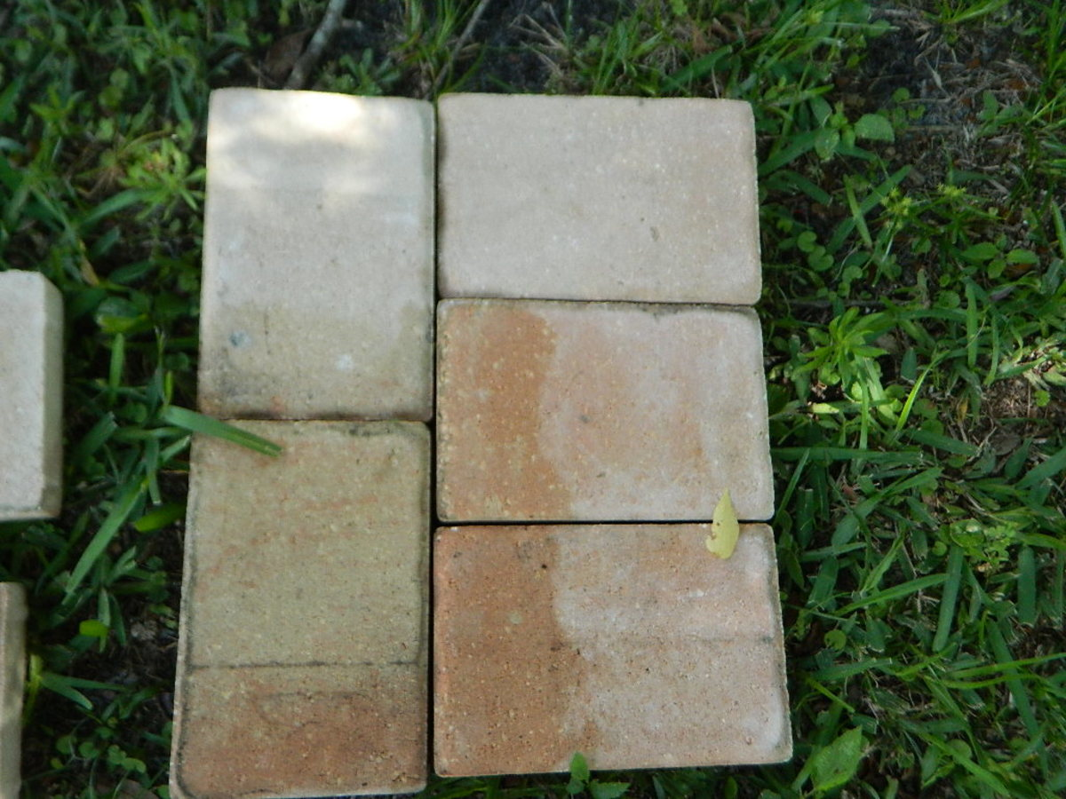 Make a diy stone and wood bench quickly and easily dengarden step publicscrutiny Gallery