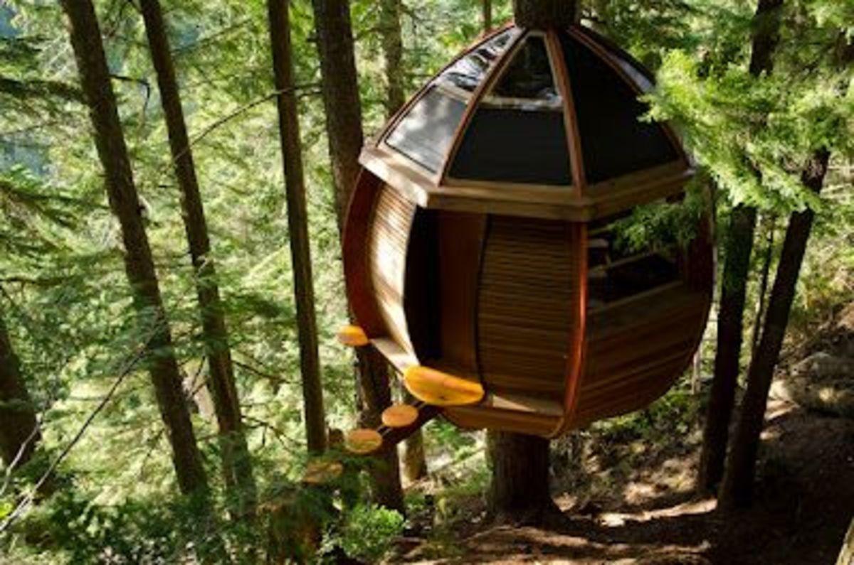 Joel Allen's HemLoft,  British Columbia, Canada.