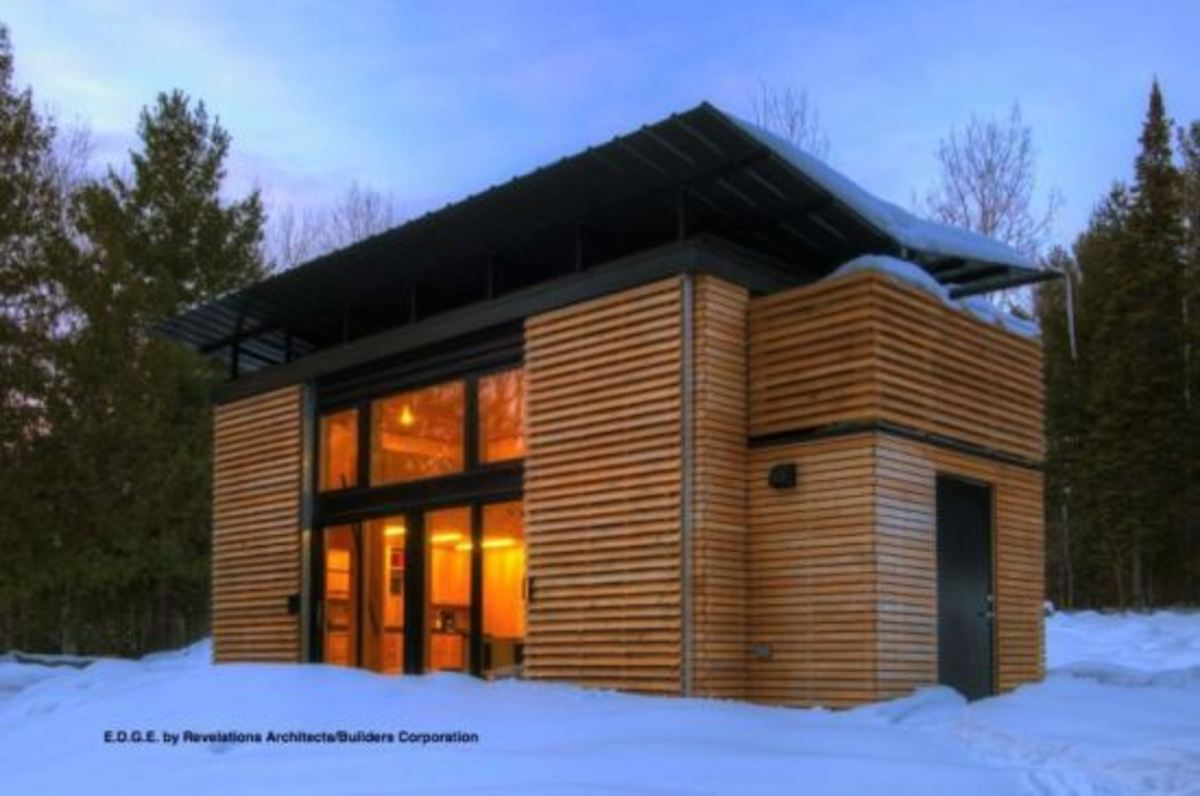 Revelations Architects 320 sq ft Edge Home
