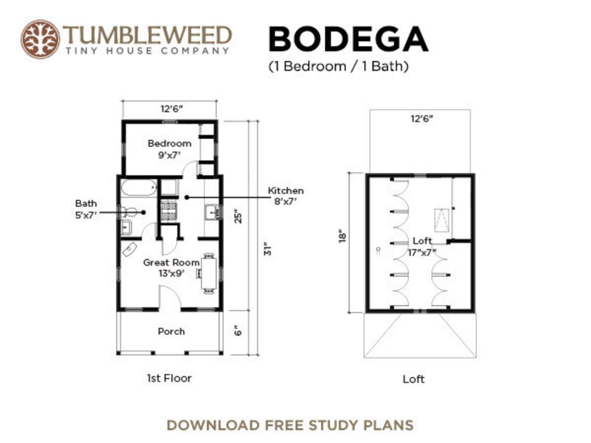 Bodega House Plans