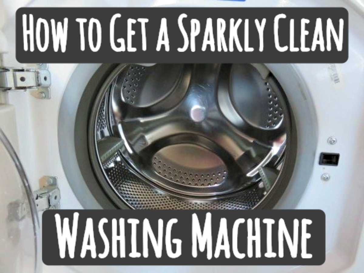 Clean and Sanitize Your Washing Machine