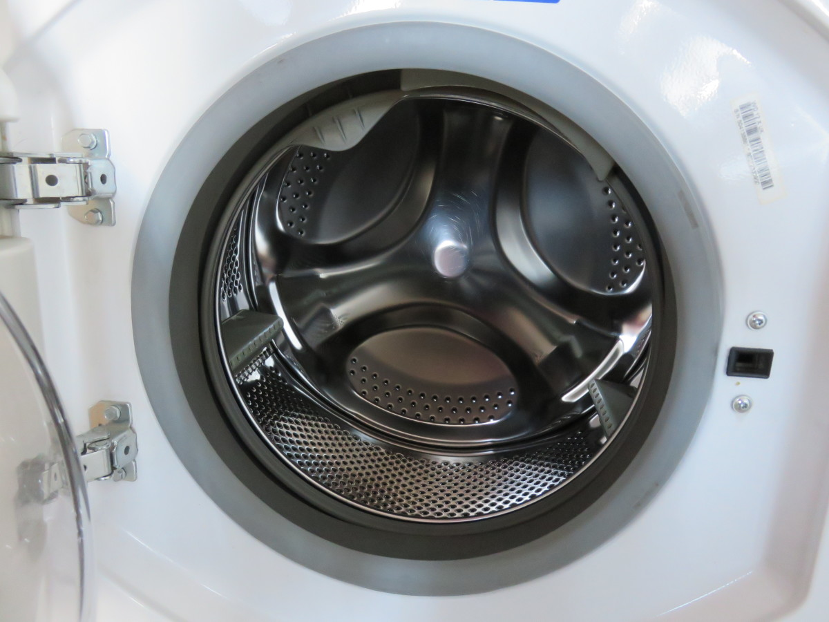 The water trapped inside the washing machines gasket which encourages mold to grow.