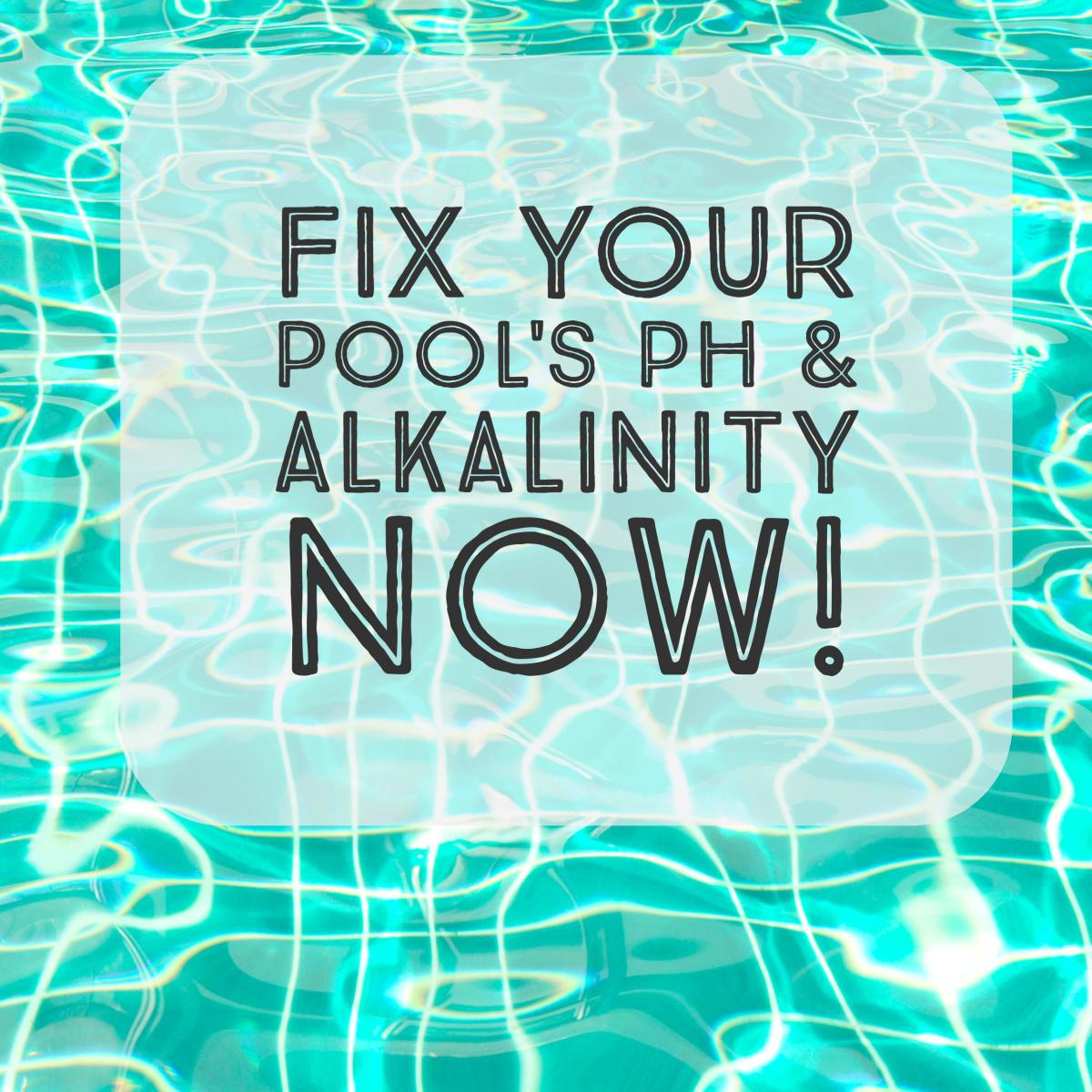 How to lower total alkalinity and adjust ph in a swimming pool dengarden Swimming pool high alkalinity