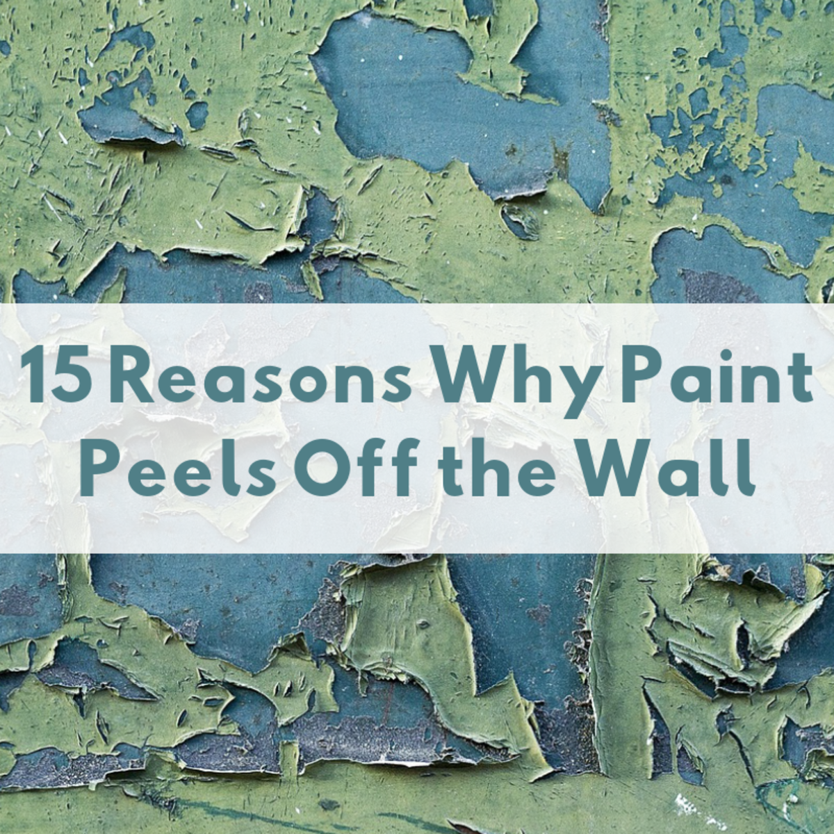 There are many factors that can cause paint to peel off your walls, floors, or ceiling. Here are a few.