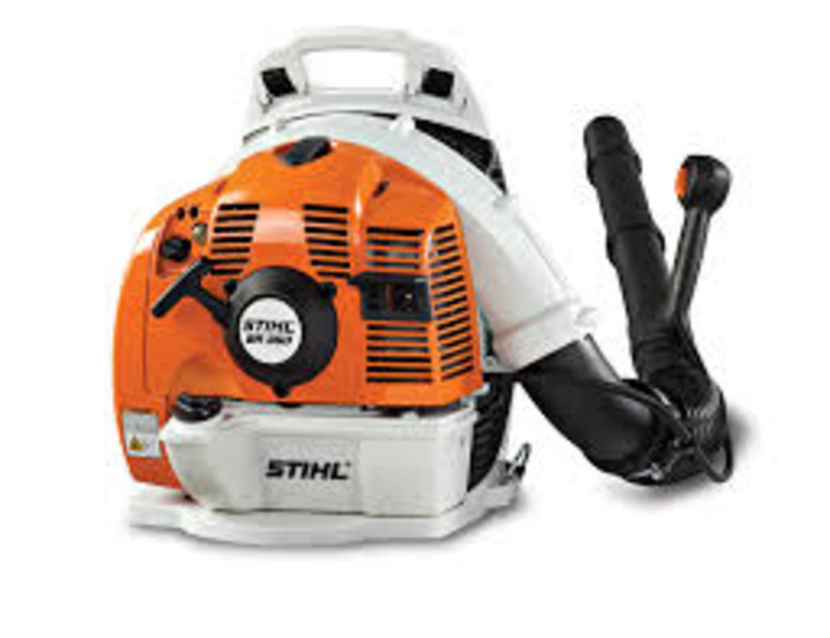 Stihl Blower 770 : Review of echo stihl and redmax backpack blowers dengarden