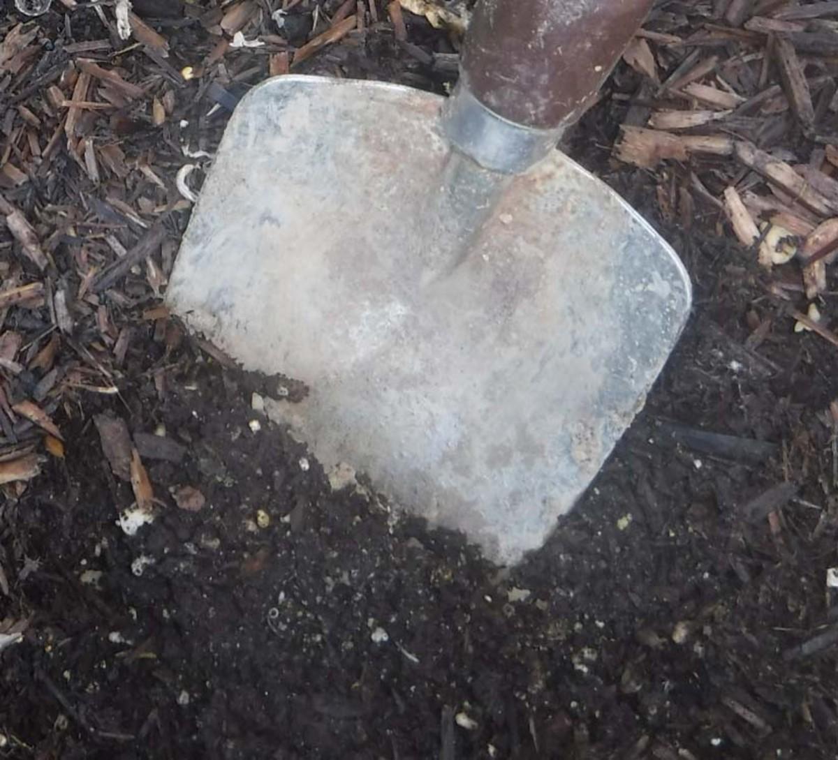 Prepare the soil for healthier vegetables.