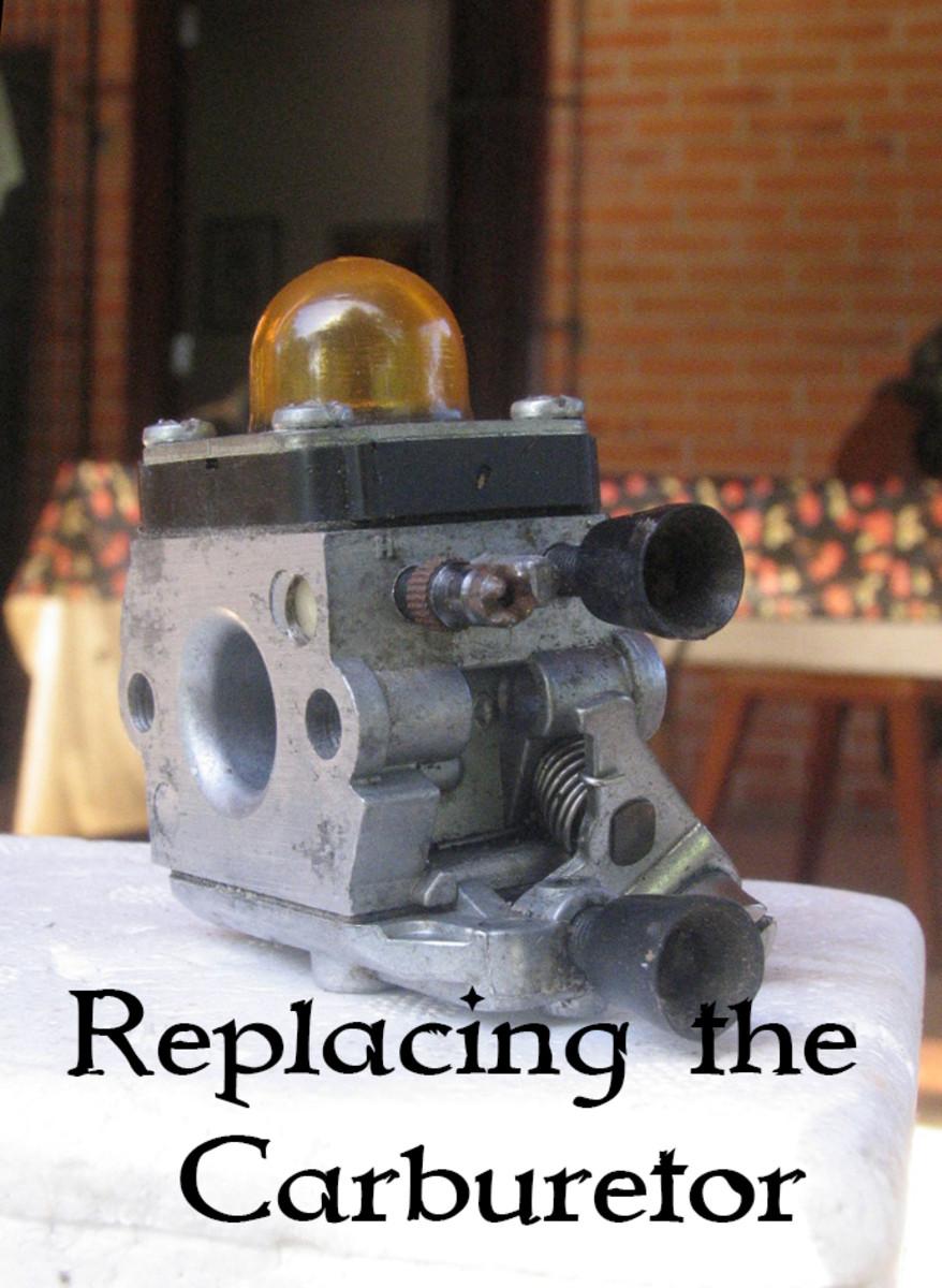 Replacing a Stihl Brush Cutter Carburetor