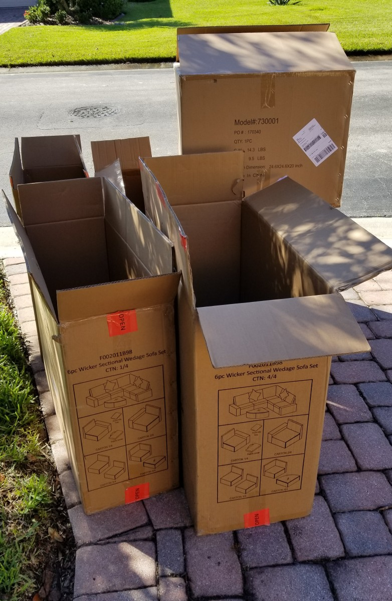 People are always needing free moving boxes, so I advertised these on my NextDoor Neighbors group. Within hours, a grateful neighbor in our community came to pick them up.
