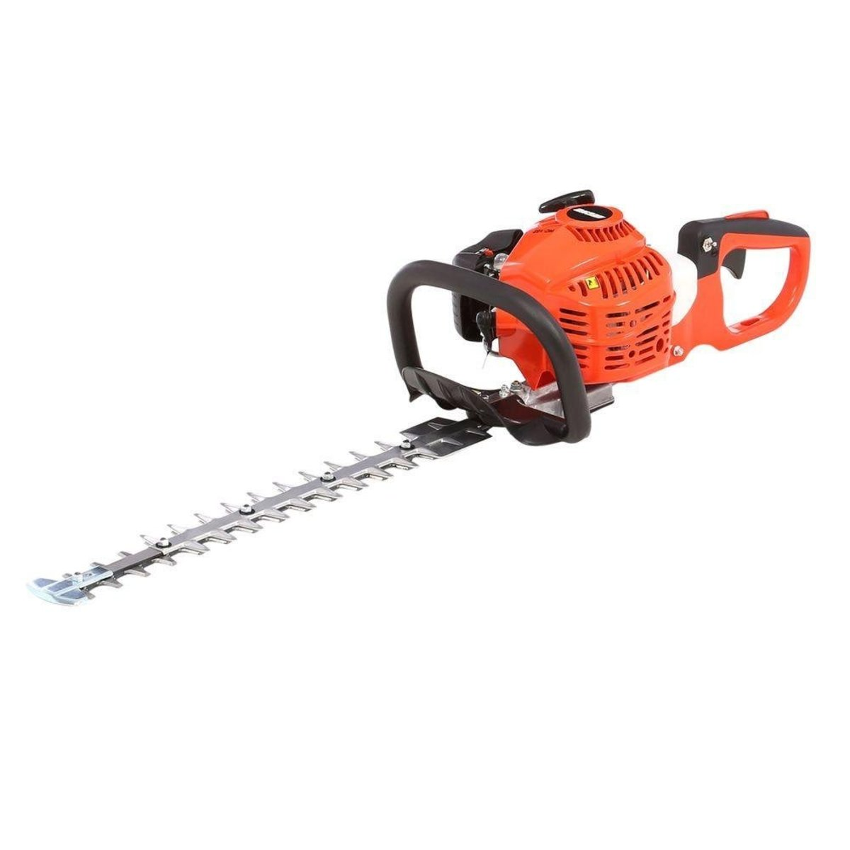 The Echo HC-152 gas-powered hedge trimmer is powered by a 21.2 cc professional-grade, 2-stroke engine, giving you the strength to tackle a large and challenging trimming job.  The commercial-duty air filtration system enables a long engine endurance.