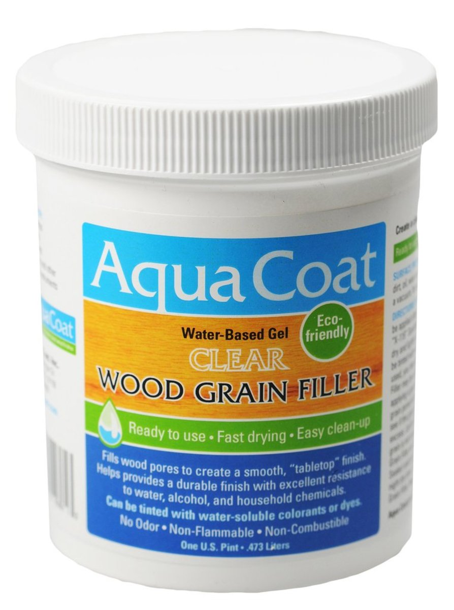 Aqua Coat Clear Wood Grain Filler Review