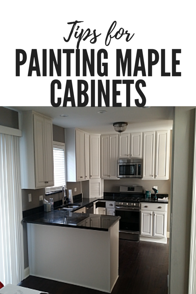 Tips for Painting Maple Cabinets