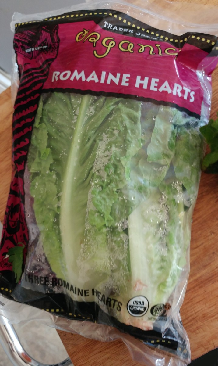 Romaine lettuce can be bought at your local grocery store.
