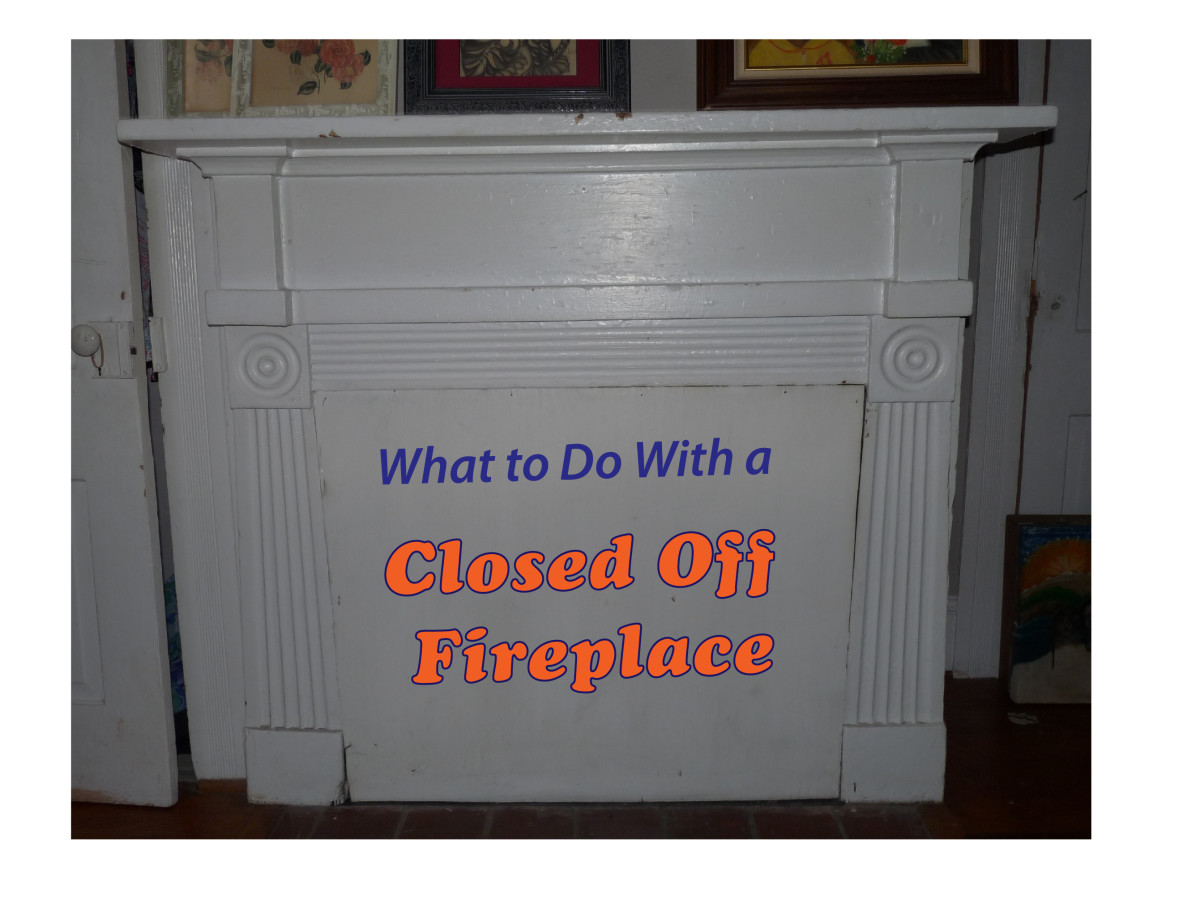 What to Do With a Closed off Fireplace
