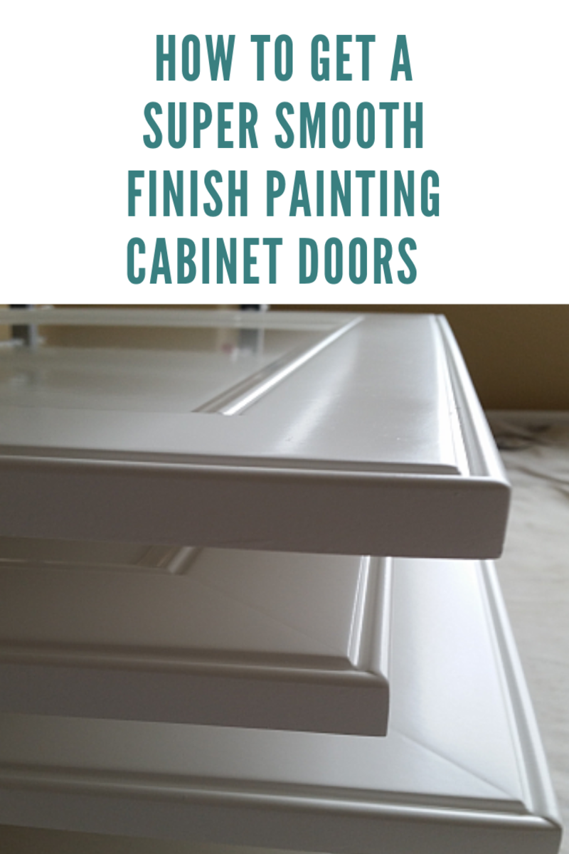 How to Get a Super Smooth Finish Painting Cabinet Doors