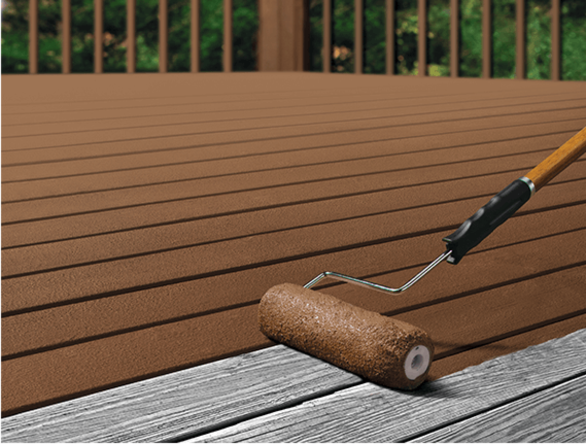 Painting Vs Staining A Deck Dengarden