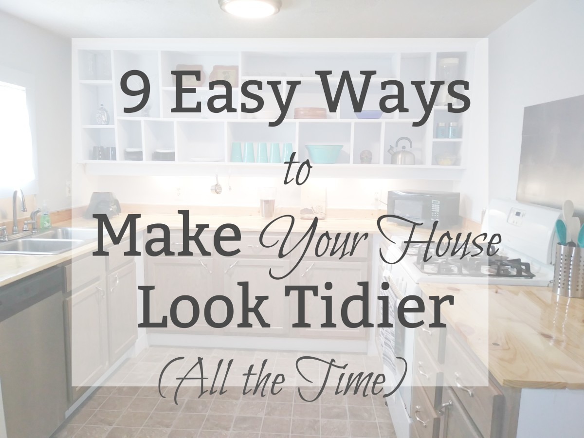 These helpful hints will help you house look cleaner and more organized—without requiring hours and hours of work.