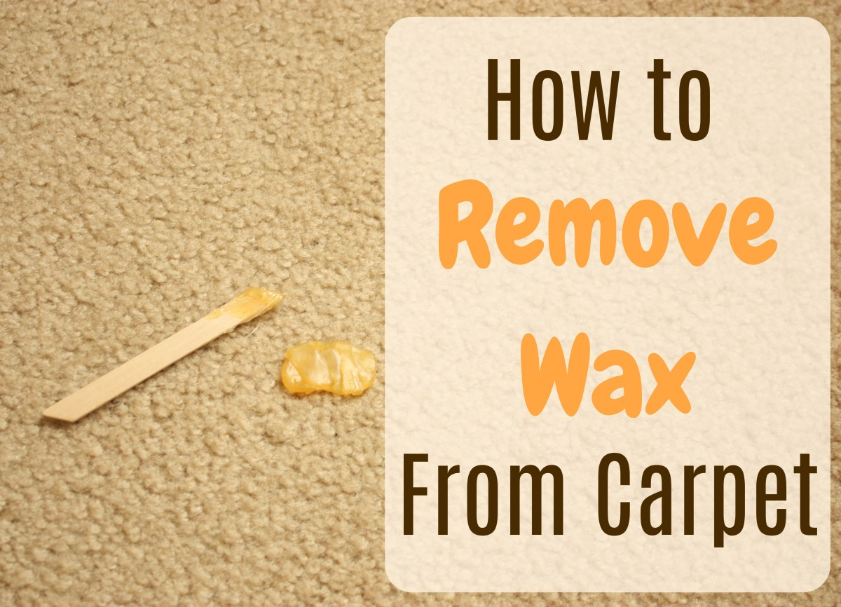 How to Get Wax Out of Your Carpet in 5 Minutes