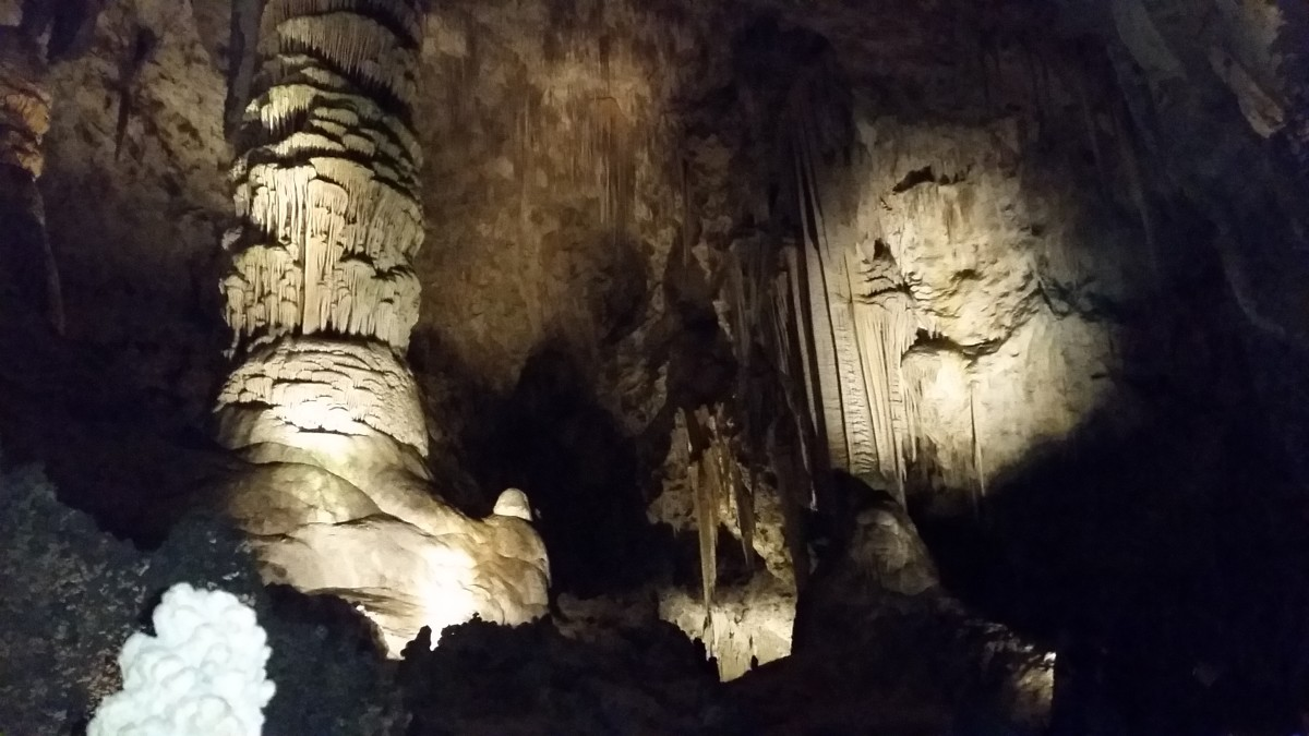 Photo from Carlsbad Caverns