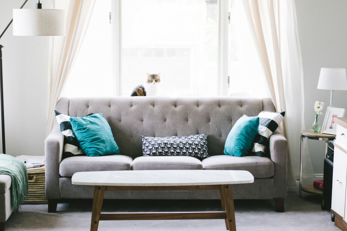 Make sure your new sofa fits in the room and has plenty of space for napping, reading and watching TV.