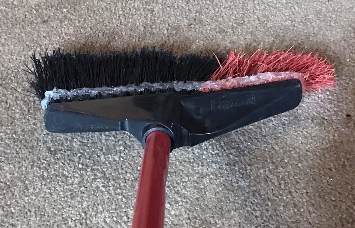 That'll do, broom.  That'll do.