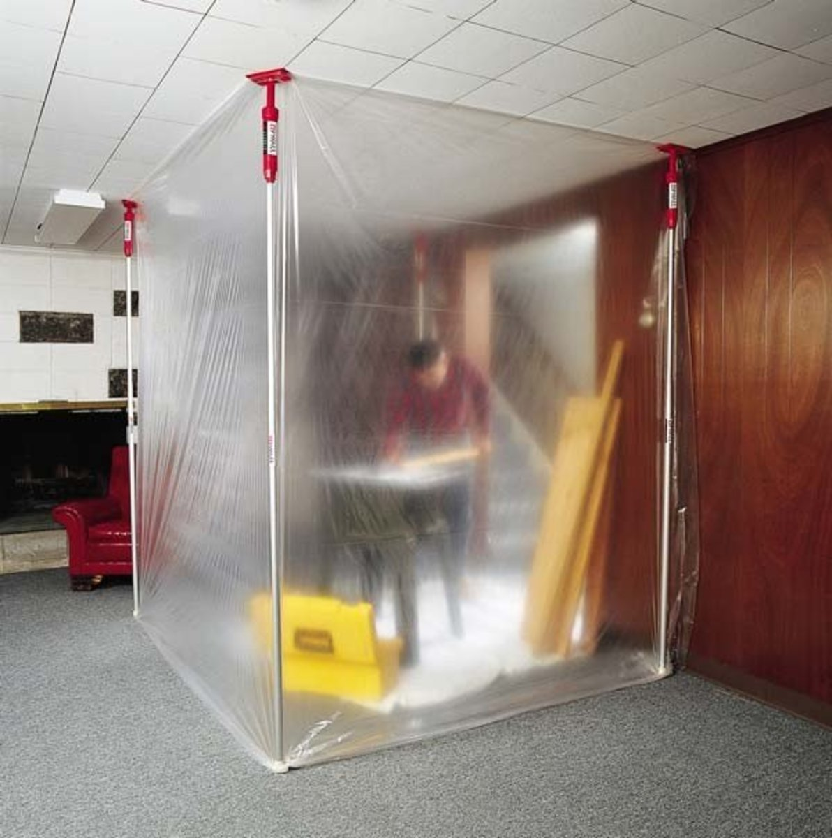 My Review of the Zipwall Dust Barrier System