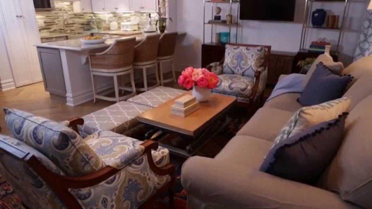 Adding too many pieces can make the room over-cluttered.