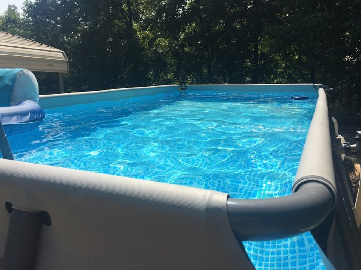 Intex Ultra Frame Above Ground Pool Set Review Dengarden